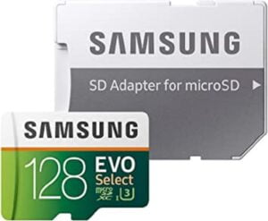 MEMORIA SAMSUNG EVO MICRO SDXC 128GB UHS 3 CLASS 10 C