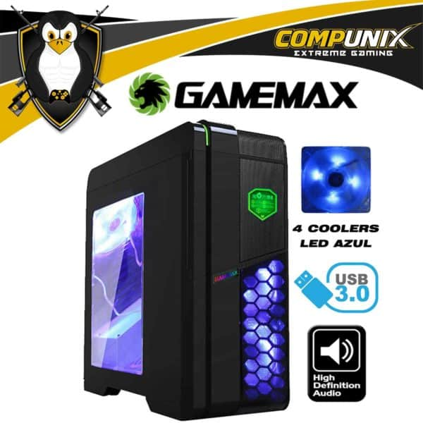 CASE GAMEMAX G536 NEGRO ATX