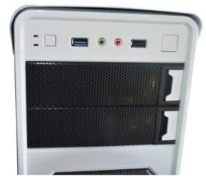 CASE GAMER ITTEK X3009 BLANCO 2 COOLERS LED C
