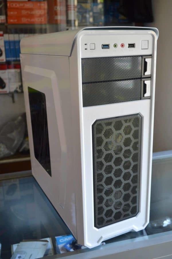 CASE GAMER ITTEK X3009 BLANCO 2 COOLERS LED F