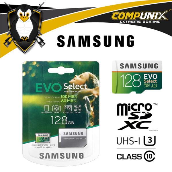 MEMORIA SAMSUNG EVO MICRO SDXC 128GB UHS 3 CLASS 10