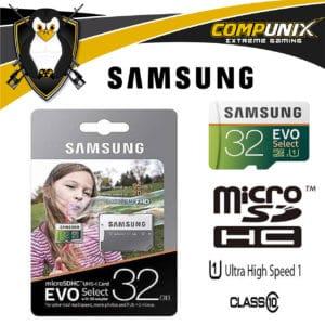 MEMORIA SAMSUNG EVO MICRO SDXC 32GB UHS 1 CLASS 10 U3