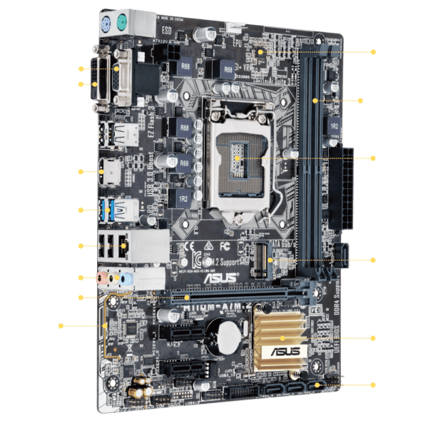MOTHERBOARD ASUS H110M-A M.2 D