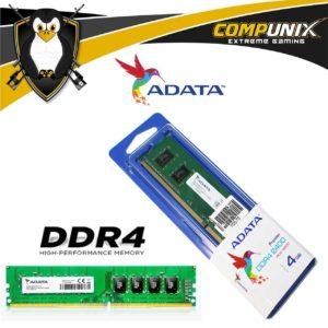MEMORIA RAM ADATA DDR4 4GB 2400MHZ