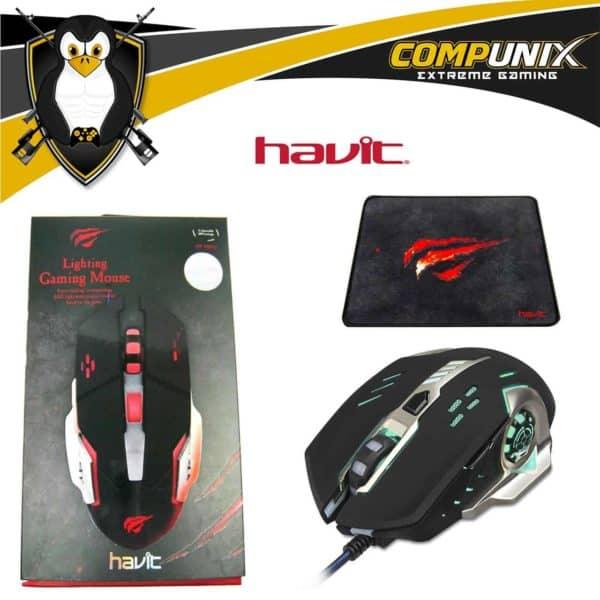 MOUSE GAMER HAVIT HV-MS783 6 TECLAS 3200DPI