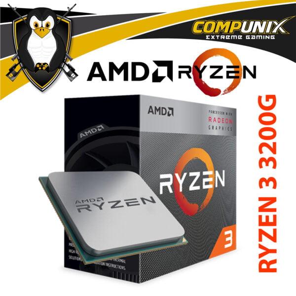 PROCESADOR APU AMD RYZEN 3 3200G 4.0GHZ