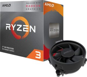 PROCESADOR APU AMD RYZEN 3 3200G 4.0GHZ C