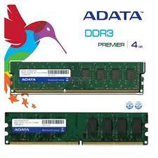 MEMORIA RAM ADATA DDR3 4GB 1600MHZ D