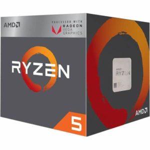 PROCESADOR APU AMD RYZEN 5 2400G 3.6GHZ C