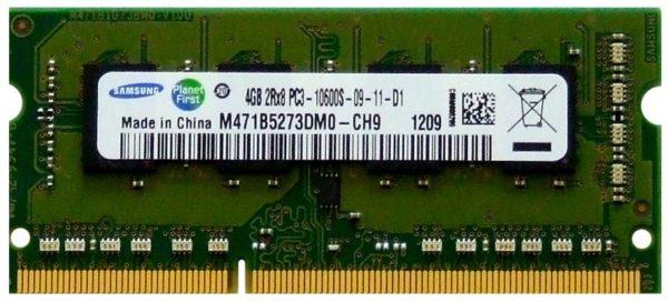 MEMORIA RAM KINGSTON LAPTOP 4GB DDR3 1333mhz F