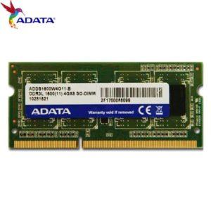 MEMORIA RAM KINGSTON LAPTOP 4GB DDR3 1600mhz E