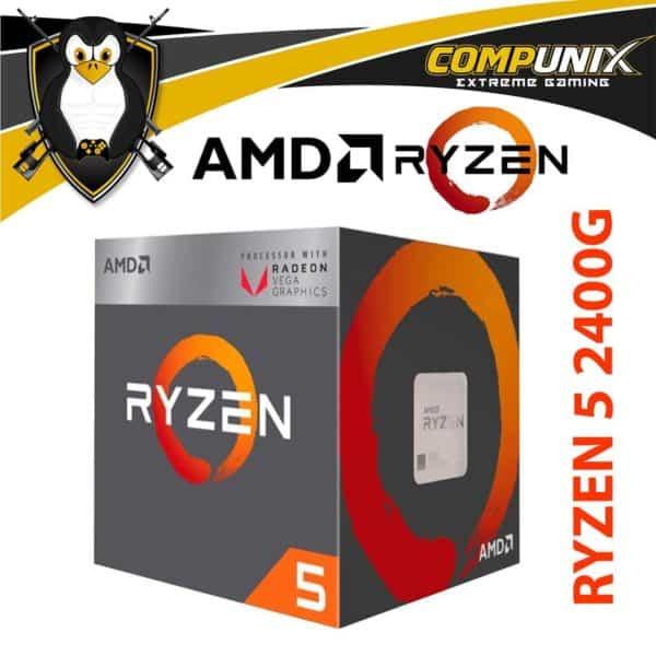 PROCESADOR APU AMD RYZEN 5 2400G 3.6GHZ