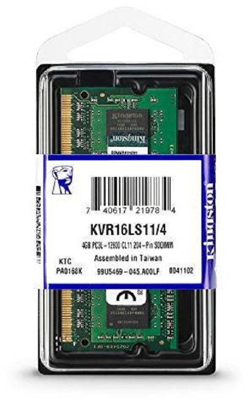 MEMORIA RAM KINGSTON LAPTOP 4GB DDR3L 1600mhz A