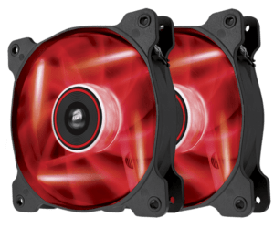 COOLER CORSAIR AF120 PACK LED RED B