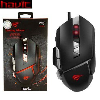 MOUSE GAMER HAVIT HV-MS793 7 TECLAS LED 3200DPI D