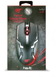 MOUSE GAMER HAVIT HV-MS749 6 TECLAS LED 3200DPI A