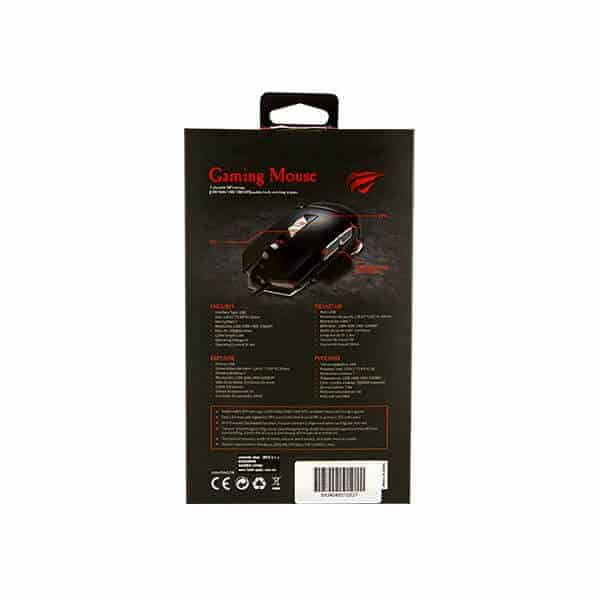 MOUSE GAMER HAVIT HV-MS793 7 TECLAS LED 3200DPI C