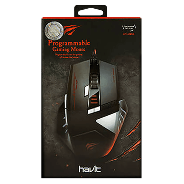 MOUSE GAMER HAVIT HV-MS798 8 TECLAS LED 4000DPI A