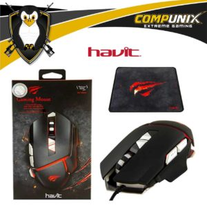 MOUSE GAMER HAVIT HV-MS793 7 TECLAS LED 3200DPI