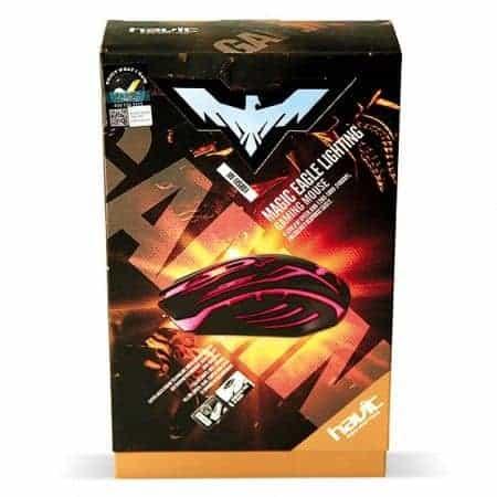 MOUSE GAMER HAVIT HV-MS801 6 TECLAS LED 2400DPI A