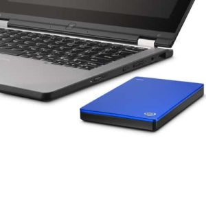 HDD EXTERNO SEAGATE BACKUP PLUS SLIM 1TB USB 3.0 BLUE E