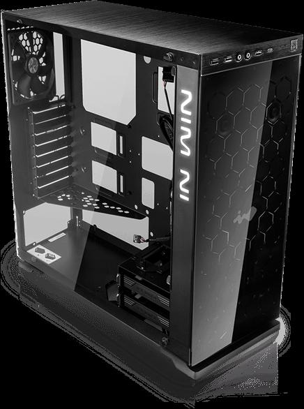 CASE GAMER INWIN 805 TEMPERED GLASS BLACK E