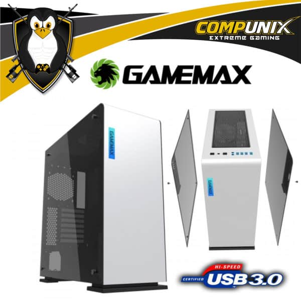 CASE GAMEMAX VEGA M909 BLANCO