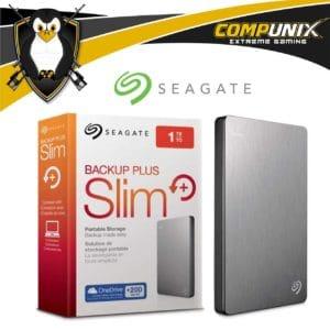 HDD EXTERNO SEAGATE BACKUP PLUS SLIM 1TB USB 3.0 GRIS