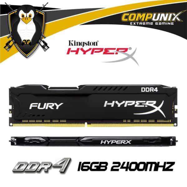 MEMORIA RAM HYPERX DDR4 16GB 2400MHZ