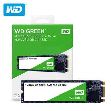 UNIDAD SSD M.2 2280 WD GREEN 120GB A