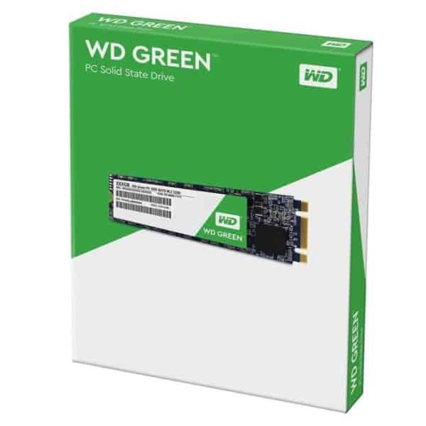 UNIDAD SSD M.2 2280 WD GREEN 120GB C