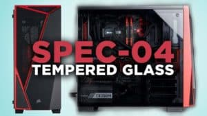 CASE GAMER CORSAIR CARBIDE SPEC-04 TEMPERED GLASS F