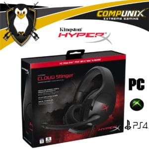 AUDIFONOS GAMER HYPERX CLOUD STINGER