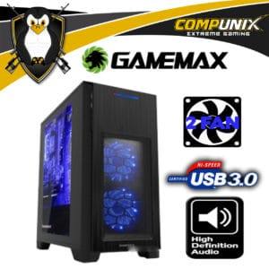 CASE GAMEMAX HERO H603 NEGRO microATX