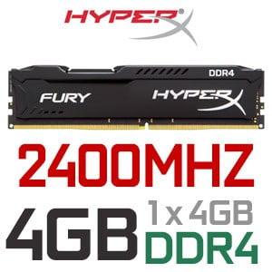 MEMORIA RAM HYPERX DDR4 4GB 2400MHZ C
