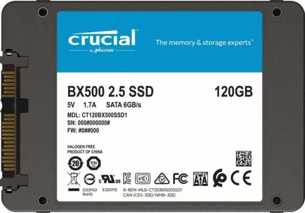 SSD CRUCIAL BX500 120GB C