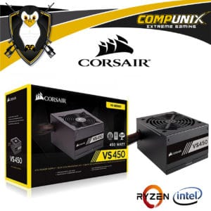 FUENTE DE PODER CORSAIR VS450 450W 80 PLUS