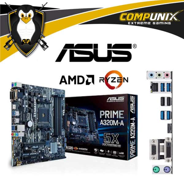 MOTHERBOARD ASUS PRIME A320MA AM4