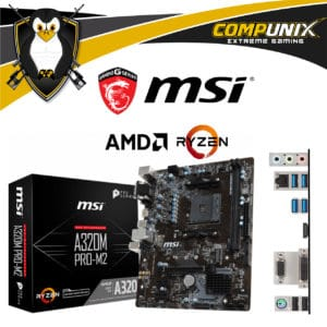 MOTHERBOARD MSI A320M PRO M.2 AM4