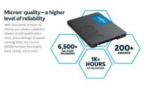 SSD CRUCIAL BX500 120GB E
