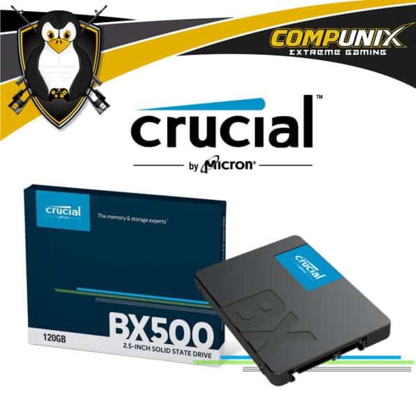 SSD CRUCIAL BX500 120GB