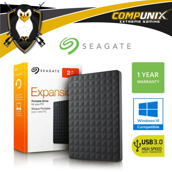 DISCO DURO EXTERNO SEAGATE EXPANSION 2TB USB 3.0