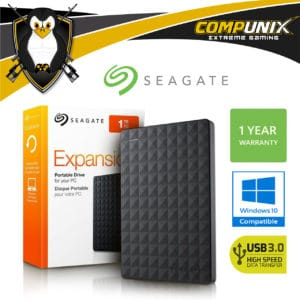 DISCO DURO EXTERNO SEAGATE EXPANSION 1TB USB 3.0