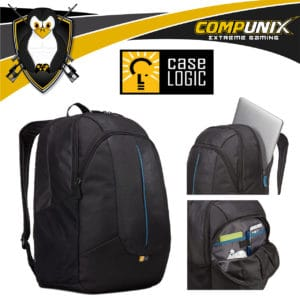 MOCHILA CASE LOGIC PREVAILER LAPTOP Y TABLET 17.3