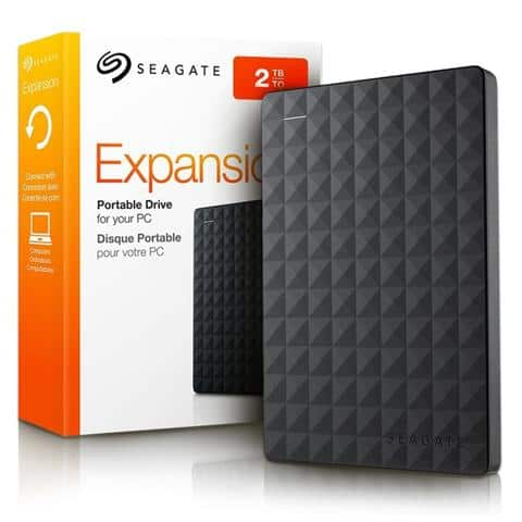 DISCO DURO EXTERNO SEAGATE EXPANSION 2TB USB 3.0 A