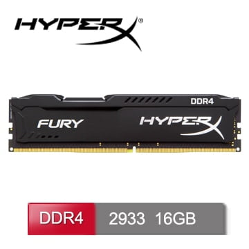 MEMORIA RAM HYPERX DDR4 16GB 2933MHZ A