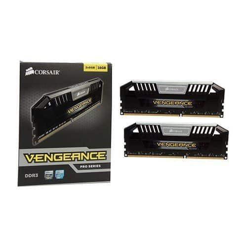 MEMORIA RAM CORSAIR VENGEANCE PRO DDR3 16GB 1600MHZ C