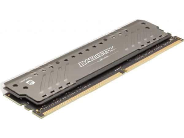 MEMORIA RAM CRUCIAL BALLISTIX TACTICAL DDR4 8GB 2666MHZ RGB D