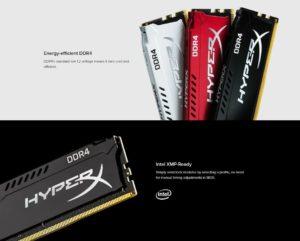 MEMORIA RAM HYPERX DDR4 16GB 2933MHZ E