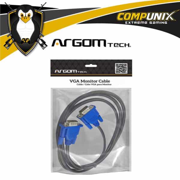 CABLE ARGOM MONITOR VGA 1.8M